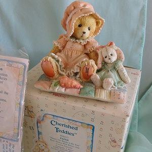 "Cherished Teddies ""Faith"" #916412"